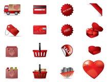 valentin för dagsymboler s Royaltyfri Illustrationer