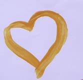 valentin för förälskelse s för daghjärtaillustration Arkivbilder