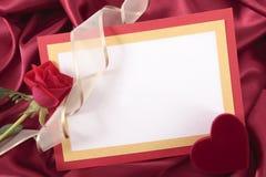 valentin för form för korthjärtaförälskelse Royaltyfri Foto