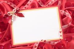 valentin för form för korthjärtaförälskelse Arkivbild