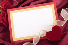 valentin för form för korthjärtaförälskelse Royaltyfri Bild