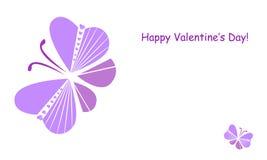 valentin för form för korthjärtaförälskelse Fotografering för Bildbyråer