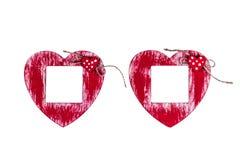 valentin för form för korthjärtaförälskelse vektor för valentin för form för modell s för hjärta för gåva för ram för kortdagdesi arkivfoton