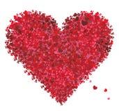valentin för hjärtaförälskelseform vektor illustrationer