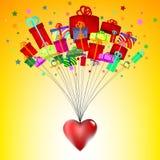 valentin för illustration s för dagdraw lycklig royaltyfri illustrationer