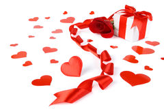 valentin för kortdag s Royaltyfri Fotografi