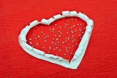 valentin för symbol för daghjärtaferie s Royaltyfri Bild