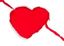 valentin för symbol för daghjärtaferie s Royaltyfri Foto