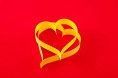 valentin för symbol för daghjärtapapper s Fotografering för Bildbyråer