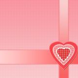 Valentin gåva stock illustrationer