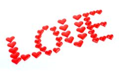 Valentin hearts Royalty Free Stock Image