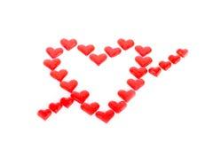 Valentin hearts Stock Photos