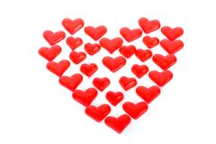 Valentin hearts Royalty Free Stock Images