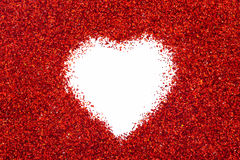 Valentin hjärta Royaltyfria Foton