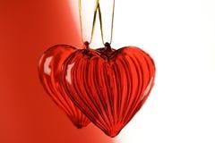 Valentin hjärtor Royaltyfria Foton