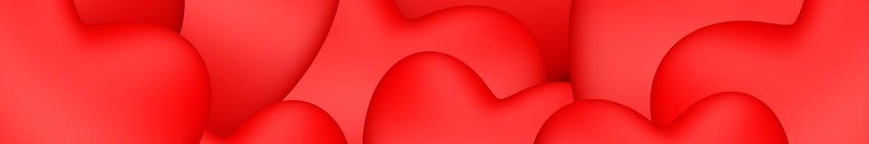 Valentin hjärtor för dagvalentin fotografering för bildbyråer