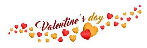 Valentin hjärtor för dagvalentin arkivfoto