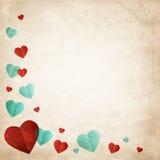 Valentin illustration för vektor för kort för dagönska Royaltyfri Bild