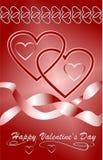 Valentin karta Fotografia Royalty Free