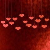 Valentin kort Arkivbild