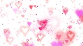 Valentin kort stock illustrationer
