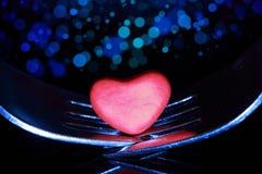 Valentin matställe Arkivbild