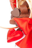 Valentin söta gåvor för dag Royaltyfri Foto