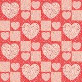 Valentin`` s-dag - hjärtor - sjal stock illustrationer
