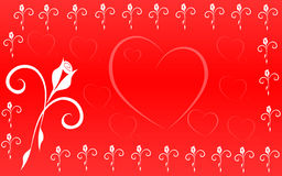 Valentin's Day. This is a valentin's day illustration background vector illustration