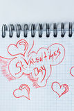 Valentin`s Day background Royalty Free Stock Photography