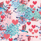 Valentin`s Day texture Stock Photos