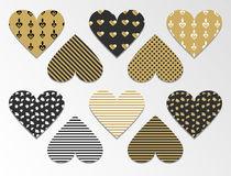 Valentin-` s Tagesnahtlose Muster Stockbilder