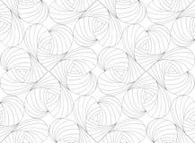 Valentin sem emenda do teste padrão Ilustração do vetor Imagens de Stock