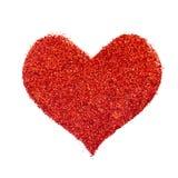 Valentin serce obrazy stock