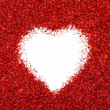 Valentin serce Zdjęcia Royalty Free