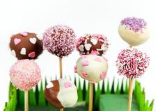 Valentin tårtapop Royaltyfria Foton