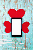 Valentin utrymme för dagkopia Royaltyfria Bilder
