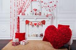 Valentin zon för dagfoto med en spis royaltyfri fotografi