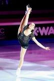 Valentina Marchei à la récompense d'or du patin 2011 Image libre de droits