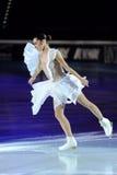 Valentina Marchei à la récompense d'or du patin 2011 Photo stock