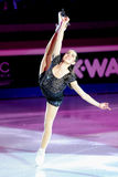 Valentina Marchei at 2011 Golden Skate Award Royalty Free Stock Image