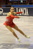 Valentina Marchei ice skater at 2010 Ice Gala Royalty Free Stock Images