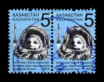 Valentina Tereshkova, 1st woman in the space, soviet astronaut, Kazakhstan, circa 2013, Stock Images