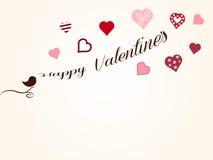 Valentinbakgrund Arkivfoto