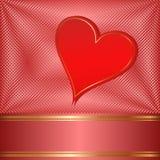 Valentinbakgrund Royaltyfri Foto