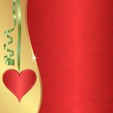 Valentinbakgrund Royaltyfri Bild