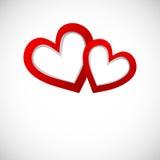 Valentinbaner för din bisness Royaltyfri Bild