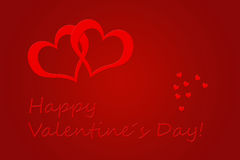Valentindag stock illustrationer