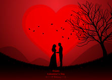 valentindag som gifta sig Royaltyfri Bild