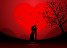 valentindag som gifta sig Arkivbilder
